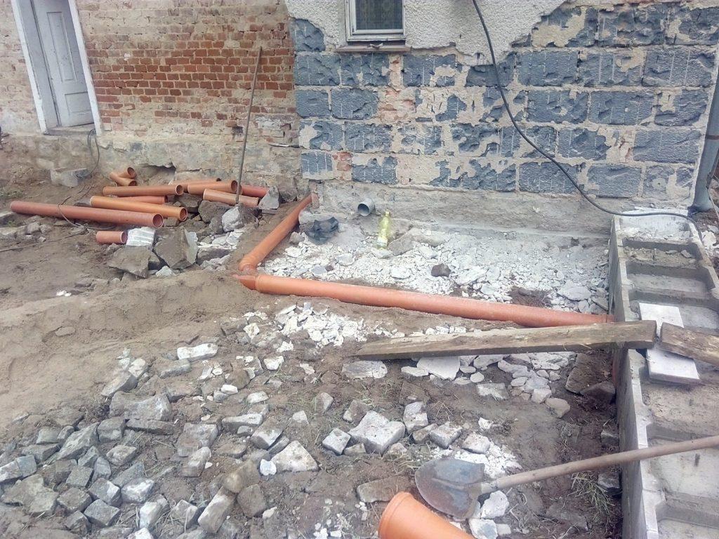 Rekonstrukce domu, Černá voda