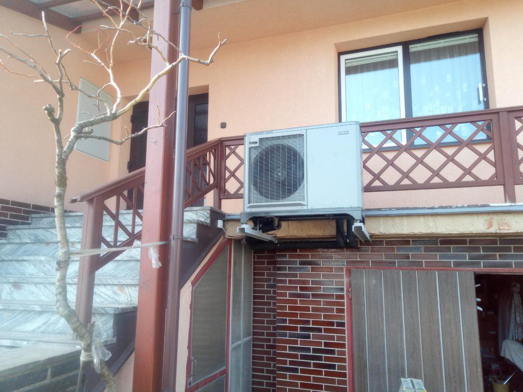Realizace tepelného čerpadla NIBE F2040+VVM320